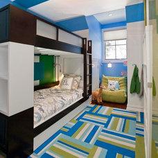 Modern Bedroom by Lily Z Design