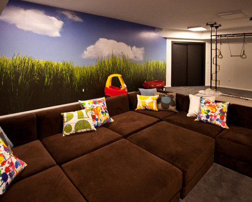 Wonderful Inspiration For A Contemporary Kidsu0027 Room Remodel In New York