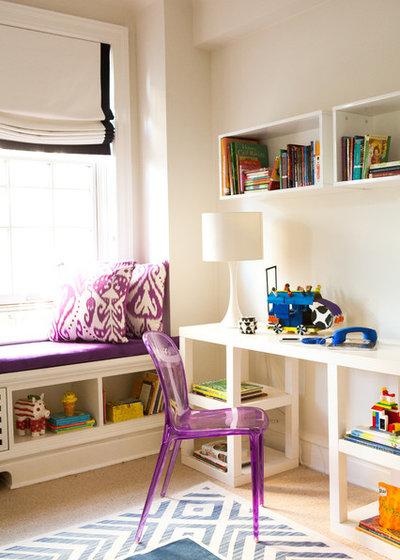 Contemporain Chambre d'Enfant by Jessica Gersten Interiors