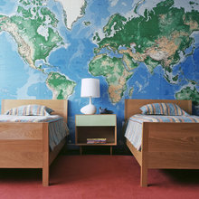 Where in the World?: Decorating with Maps and Globes