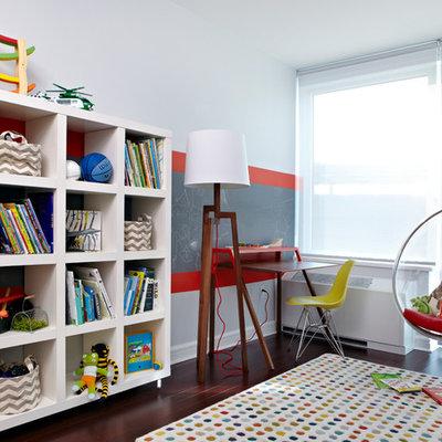 Kids' bedroom - contemporary kids' bedroom idea in New York