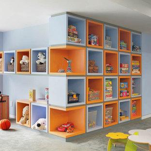 Playroom - transitional playroom idea in New York