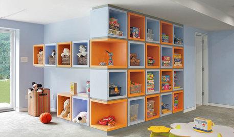 10 étagères pour ranger une chambre d'enfant avec style