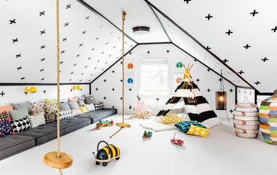 Sådan dekorerer du væggene med det populære 'masking tape'