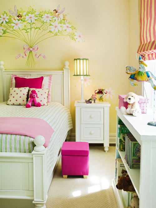 Inspiration For A Contemporary Girl Kidsu0027 Room Remodel In New York