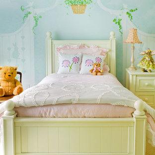 Trendy girl kids' room photo in New York