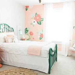 Whimsical Floral Girls Bedroom by Design Loves Detail
