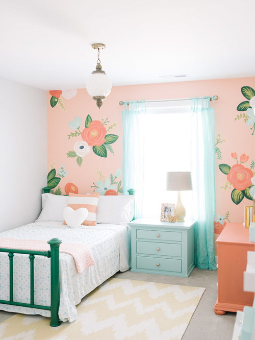 SaveEmail. Houzz   Floral Bedroom Design Ideas   Remodel Pictures