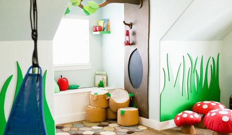 Chambre d'enfant de la Semaine : L'imagination prend le pouvoir