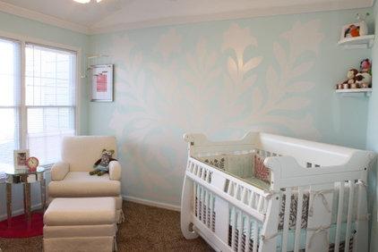 Traditional Kids White and Cream Nursery
