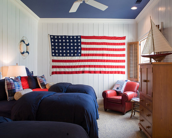 red white and blue | houzz
