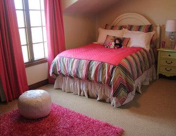 Wilson Estates Colorful Little Girl's Room