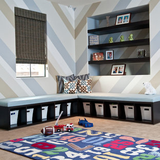 Photo of a contemporary kids' room in Phoenix.