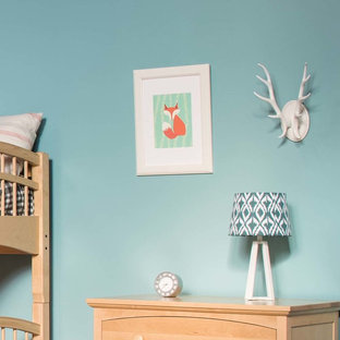 Woodland Theme Kids Room on a Budget