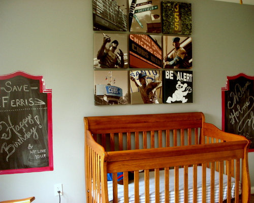 Chicago cubs houzz for Rooms 4 kids chicago