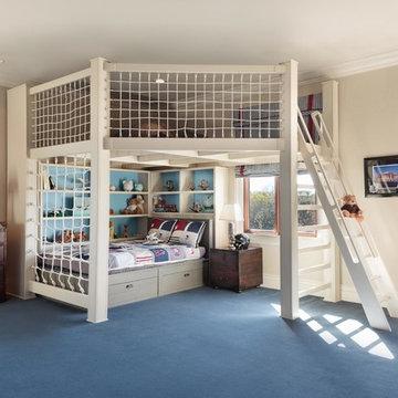 Wrigley Field - Inspired Kid's Bedroom
