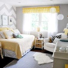 Contemporary Kids Yellow & Grey nursery
