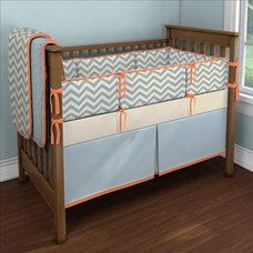 Modern Kids Zig Zag Crib Bedding
