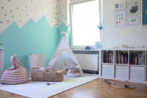 Skandinavisch Kinderzimmer by whatleoloves | Kinderzimmerdesign