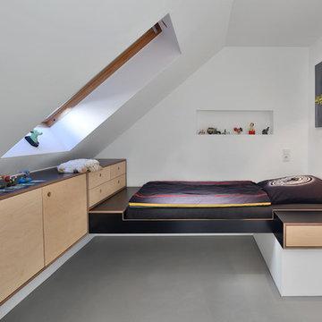 Einbaumöbel Kinderzimmer Dachgeschoss