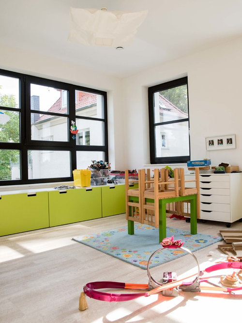 landhausstil kinderzimmer ideen design houzz. Black Bedroom Furniture Sets. Home Design Ideas
