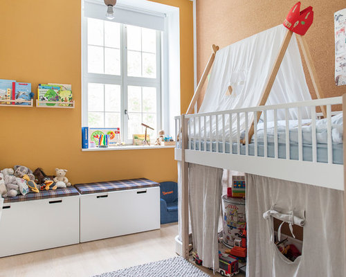 kleine kinderzimmer ideen design bilder houzz. Black Bedroom Furniture Sets. Home Design Ideas