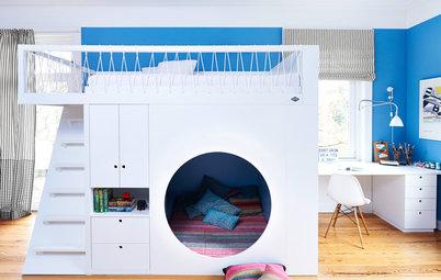 8 idées pour aménager un coin banquette dans une chambre d'enfant
