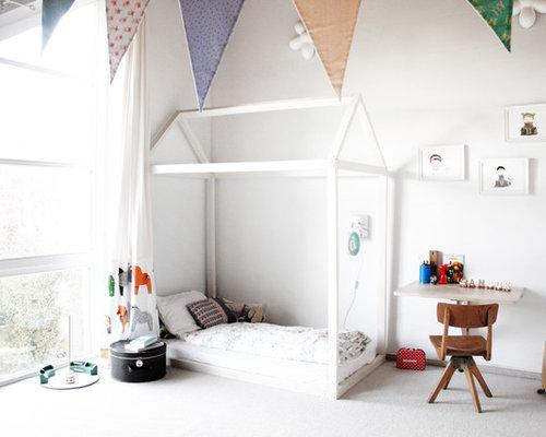 skandinavische kinderzimmer mit teppichboden ideen design. Black Bedroom Furniture Sets. Home Design Ideas