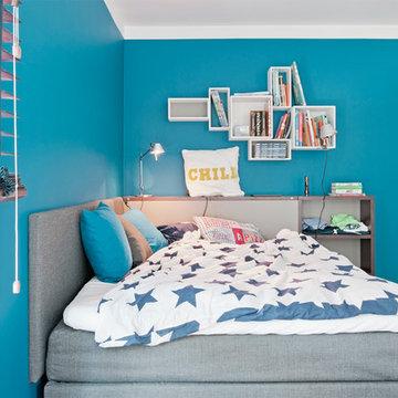 Jugendzimmer Einrichtung und Farbkonzept in Düsseldorf