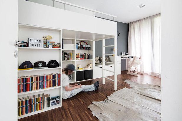 Nórdico Dormitorio infantil by HEIKESCHWARZFISCHER   INTERIOR. DESIGN.