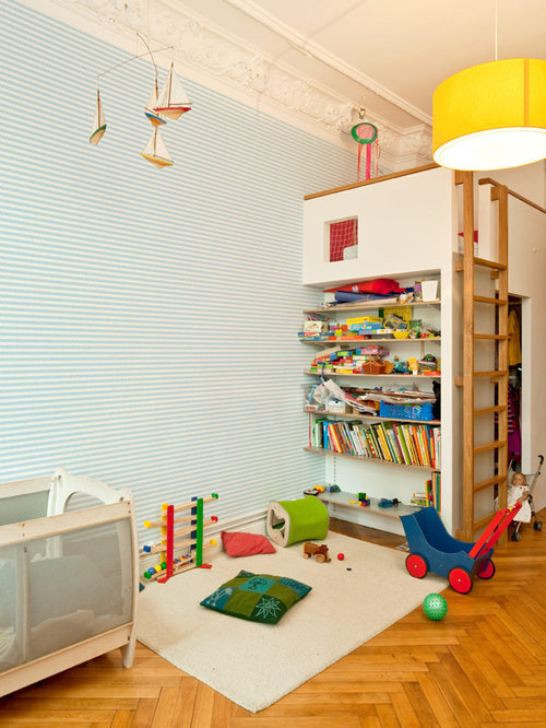 klassische kinderzimmer ideen design bilder houzz. Black Bedroom Furniture Sets. Home Design Ideas