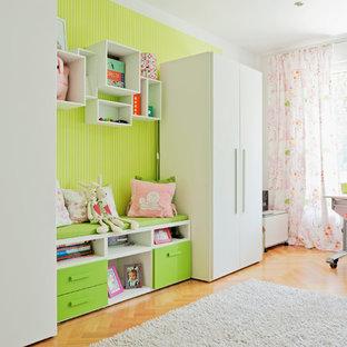 Kinderzimmer Mädchen Stauraumideen Kleiderschrank
