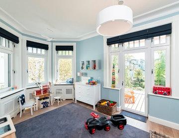 Kinderzimmer mit Erker