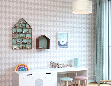 Kinderzimmer/Spielzimmer in Pastellfarben