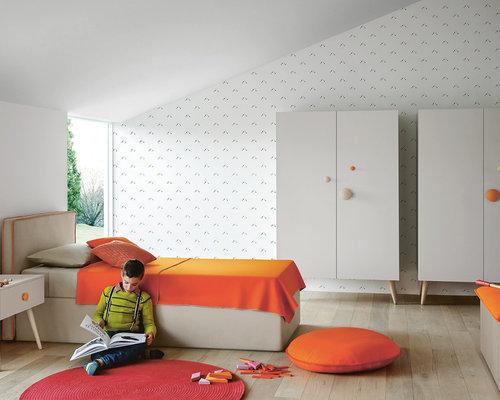 kinderzimmer f r 4 j hrige bis 10 j hrige design ideen bilder beispiele. Black Bedroom Furniture Sets. Home Design Ideas
