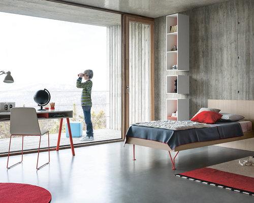 Moderne Kinderzimmer mit Betonboden: Design-Ideen, Bilder & Beispiele