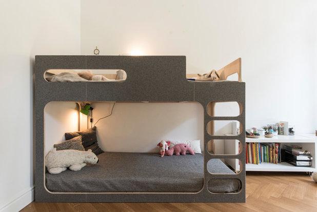 Minimalistisch Kinderzimmer by arnouva elanández