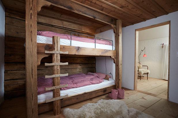 Rústico Dormitorio infantil by Meier Architekten