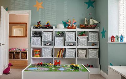 11 astuces rangement pour optimiser une chambre d 39 enfant - Rangement dans petite chambre ...