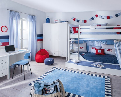 maritime kinderzimmer ideen design bilder houzz. Black Bedroom Furniture Sets. Home Design Ideas