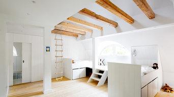 Sanierung Gründerzeit Villa - Kinderzimmerkinderzimmer deko