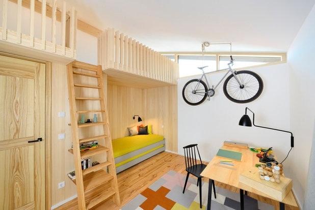 Modern Kinderzimmer by DieHausDesigner