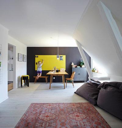 Scandinavian Home Office by Burmester Photography - Fotograf