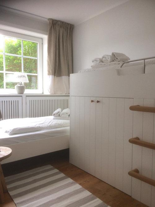 Chambre d\'enfant avec un sol en vinyl et un mur gris : Photos et ...