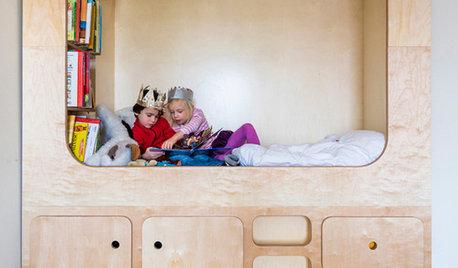 Bygg på höjden i barnrummet och få mer plats