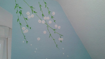 Wall designs- girls room