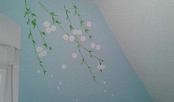 Wall designs- girls room