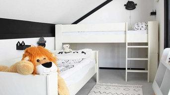 Wild Animals - Schlafzimmer für 4-jährige Zwillinge