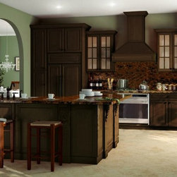 """Regency Espresso 30""""x15""""x12"""". Plate Rack That Holds 11 Plates. Cabinet Pre-assem - The Regency Espresso kitchen cabinet collection offers a rich style yet extremely affordable kitchen. These cabinets are known for being economical but glamorous at the same time! The Regency Espresso cabinets are well-crafted and the price can't be beat! Width 30"""" Height 15"""" Depth 12"""". Plate rack that holds 11 plates."""