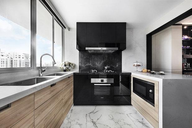 Modern Kitchen by akiHAUS Design Studio